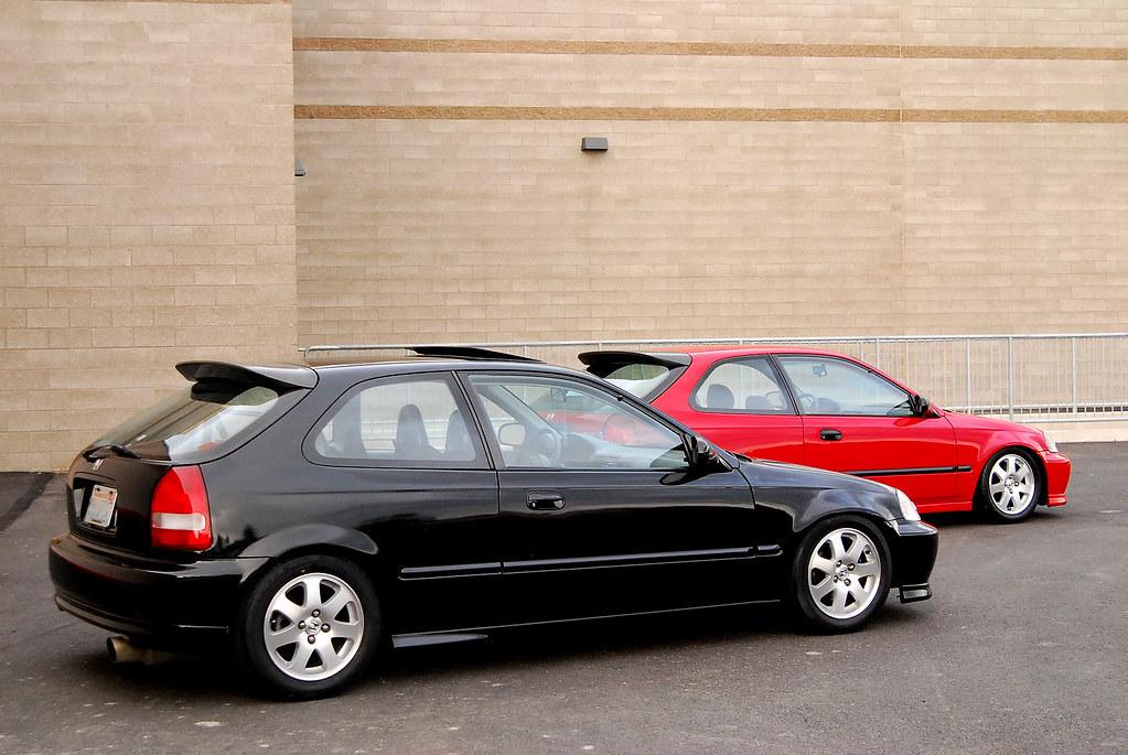 WA FOR SALE or FOR TRADE: Black Honda Civic EK Hatchback ...